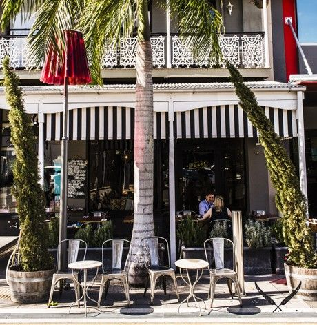 Pearl cafe, wooloongabba
