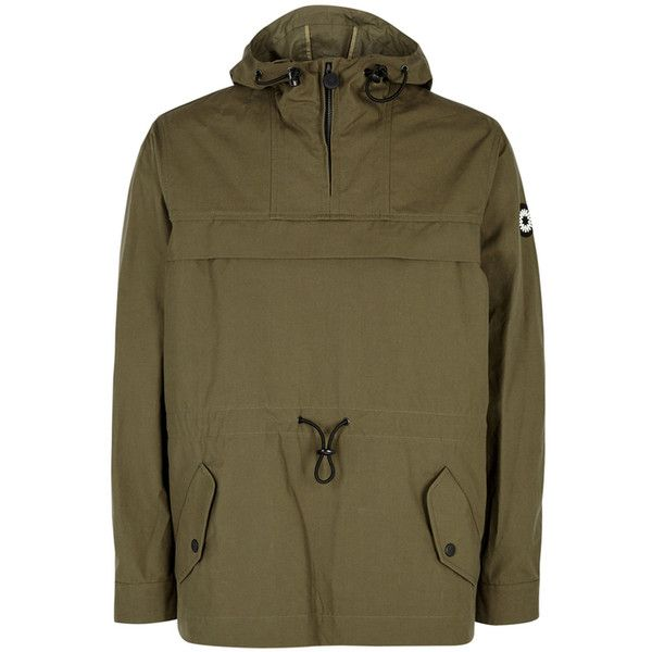 Marley olive green military jacket mens