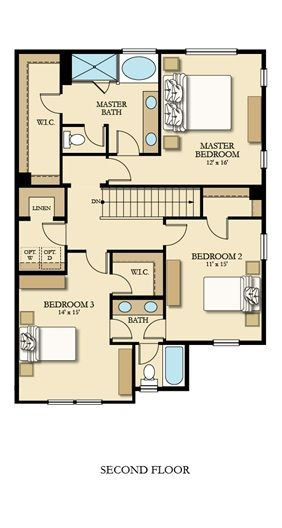 54 Best Lennar Seattle Floorplans Images On Pinterest