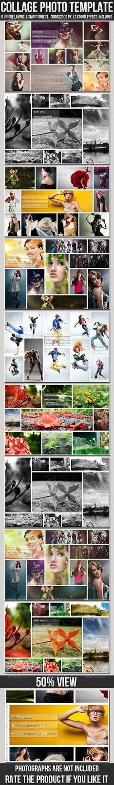 StrokeSaiful: Collage Photo Templates