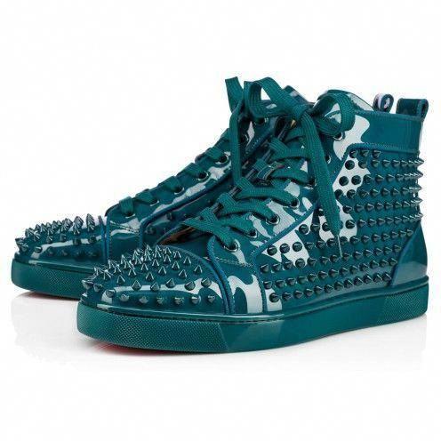 be00d20829ef Shoes - Louis Spikes Orlato Men s Flat - Christian Louboutin   ChristianLouboutin