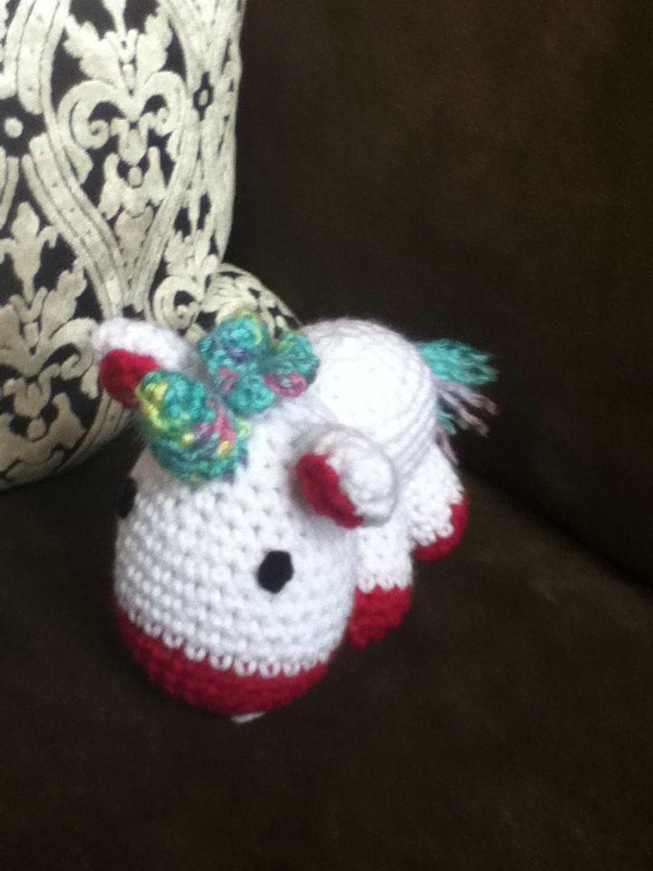 A baby unicorn!!!