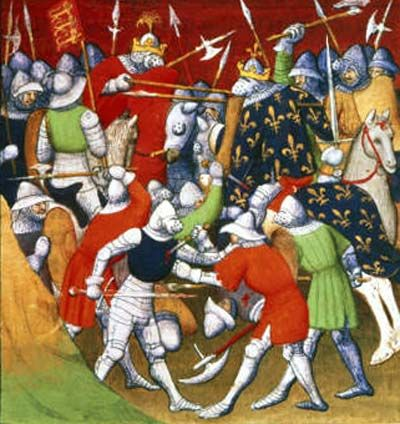 The Battle of Poitiers from a contemporary account