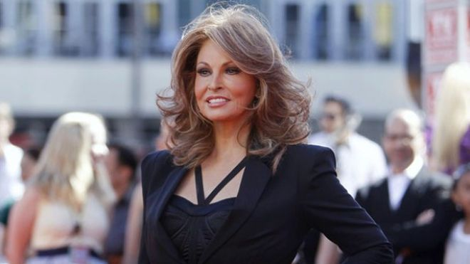 Raquel Welch  It has been a few years since her iconic 'One Million Years B.C.' performance in 1966, but Raquel still looks amazing for a la...