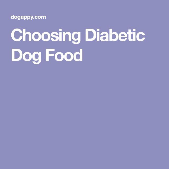 Choosing Diabetic Dog Food