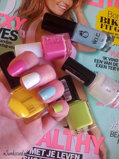 xSunkissed Colorfull nagels