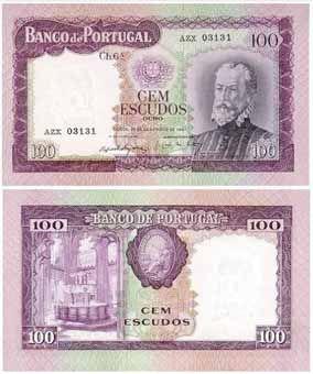 100 escudos II , 1963
