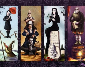 Awesome artwork on Etsy! Addams Family