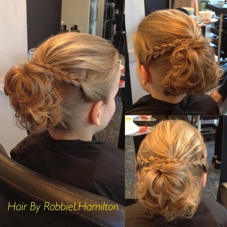 Hair up ✨ wedding hair / bridesmaid hair ideas with curls and plaits ✨👰🏼