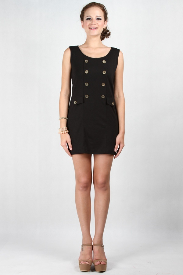 Athalia Dress Black www.pinkemma.com