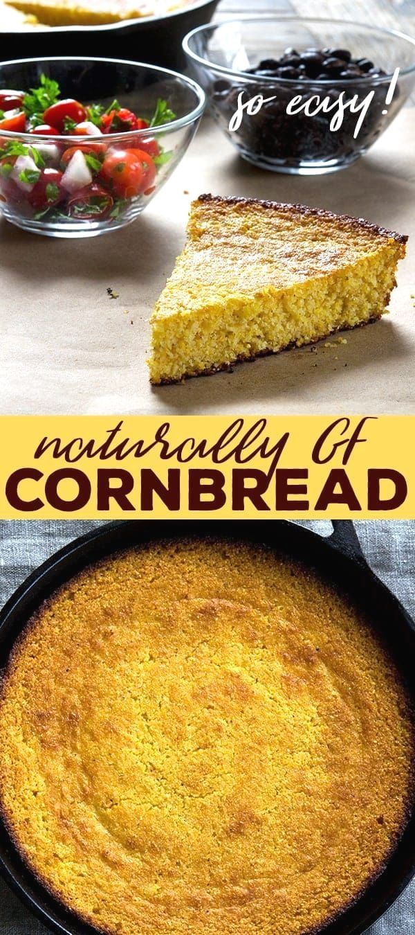 This old fashioned r  This old fashioned recipe for gluten free cornbread is the perfect side to any meal, especially warm, comforting chili. Or serve it with salsa and beans!  https://www.pinterest.com/pin/53691420541502860/