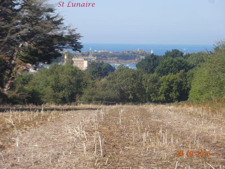 Saint - Lunaire-retour à travers la campagne