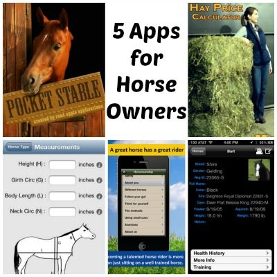 5 Apps for Horse Owners #cowboymagic #horseapps