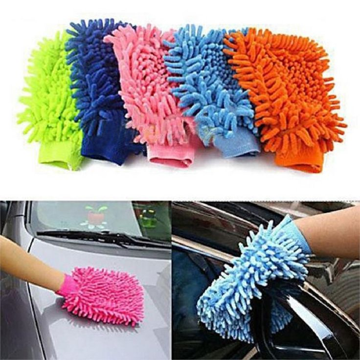 1.09$  Buy here - Random Hot Sale New Multicolor Super Mitt Microfiber Car Wash Washing Cleaning Glove high quality   #buyonlinewebsite