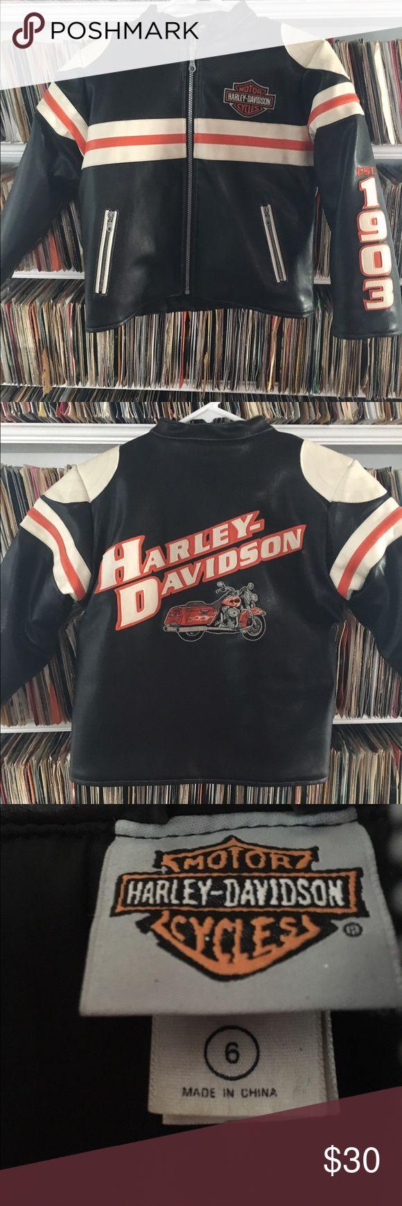 Selling this Harley-Davidson Faux Leather Motorcycle Jacket on Poshmark! My username is: onemanstrashwp. #shopmycloset #poshmark #fashion #shopping #style #forsale #Harley-Davidson #Other