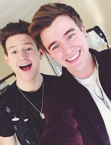 Connor and Ricky! All I want to say is that ever since I've started watching them on YouTube they have changed my life in a good way so support them. Buy Ricky's new song on iTunes nobody.love it