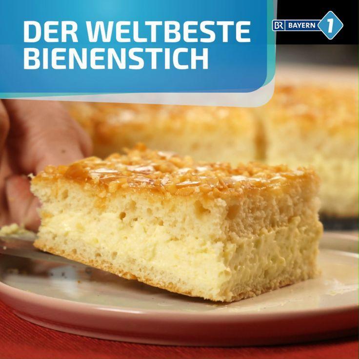 Bienenstich Mit Vanillecreme Rezept Bienenstich Rezept Bienenstich Kuchen Vanillecreme Rezept