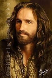 jim caviezel - Jesus! from Passion of the Christ - such a kind looking & gentle expression to portray the Savior with depth of knowledge hidden in the eyes.........!!!!