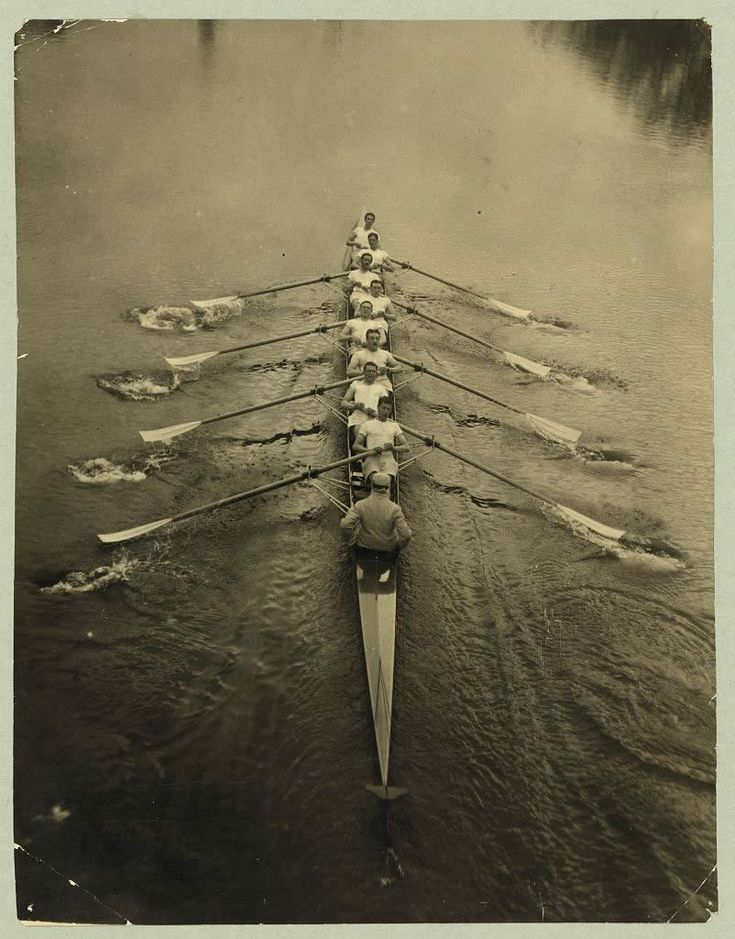 Cambridge Crew Rowing 1912