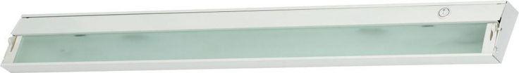 Zeeline 6 Lamp Xenon Cabinet Light In White With Diffused Glass