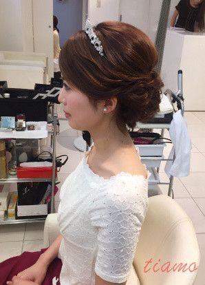 美人花嫁さまの大人可愛い3スタイル♡♡リハ篇 の画像|大人可愛いブライダルヘアメイク 『tiamo』 の結婚カタログ