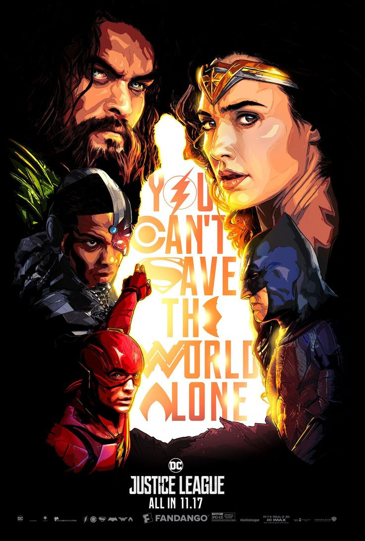 Upcoming Movie Justice League Promo Poster for DC Comics
