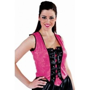 Costume bustier Paris rose pink sexy femme, bustier moulin rouge adulte chic, glamour. http://www.baiskadreams.com/2337-costume-bustier-paris-pink-moulin-rouge-luxe-femme.html