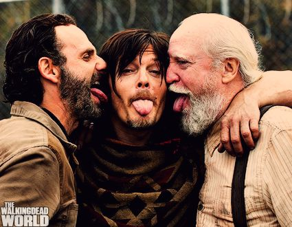 Scott Wilson,Norman Reedus and Andrew Lincoln ♥