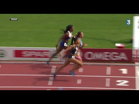 Finish INCROYABLE - France relais 4x400m Femme Championnat d'Europe 2014...