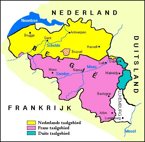 De actuele taalsituatie in België
