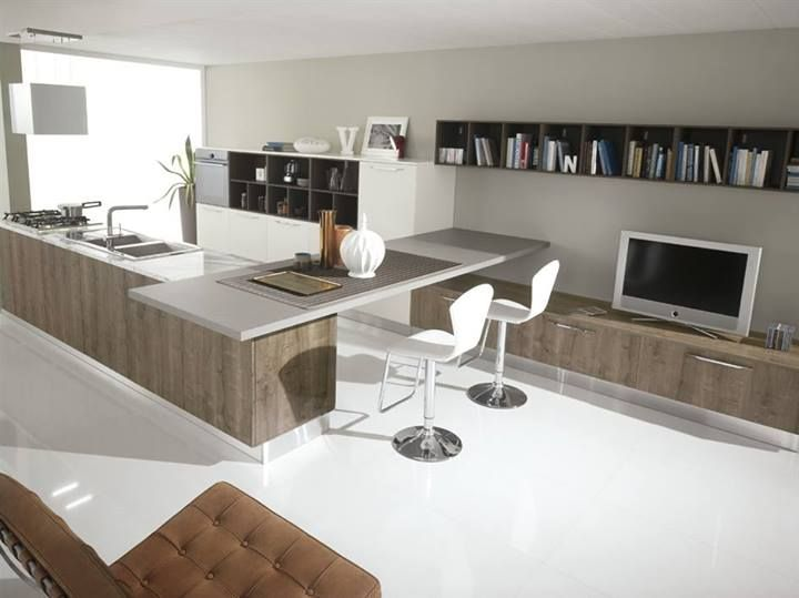 Modern design and classy, the line proposed by Spar Miami offers an environment that caters to every need. http://www.spar.it/ita/Catalogo/Cucine/Cucine-moderne/MIAMI/PROPOSTA-04-cd-940.aspx