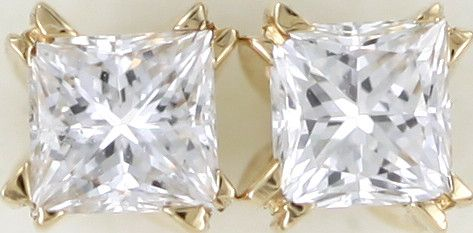 Australian 18ct  Gold Classic Diamond Earrings .35 ct  JAO42  classic diamond earrings in 18k yellow gold