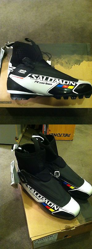 Boots 36266: Salomon Rc Carbon Uk 4.5 Classic Nordic Ski Boots -> BUY IT NOW ONLY: $79 on eBay!