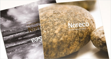 Stunning annual reports for an expanding Norwegian oil company.