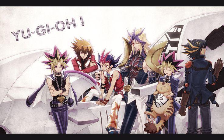 Tags: Yu-Gi-Oh!, Yami Yugi, Yu-Gi-Oh 5Ds, Yu-Gi-Oh! GX, Yusei Fudo, Juudai Yuuki, Paradox, Yu-Gi-Oh! ZEXAL, Studio Gallop, Tea (Retroz), Yum...