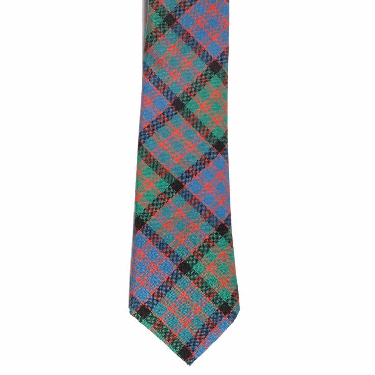 MacDonald Ancient Tartan Tie from Gretna Green #TartanTie #PlaidTie