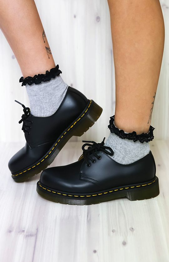 Dr. Martens - 1461 - Black Noir | New Arrivals | Peppermayo