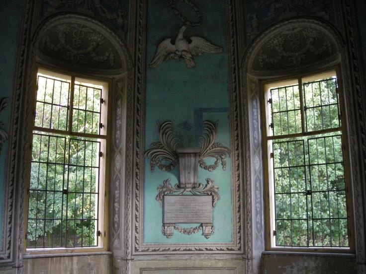 a pavilion on the inside