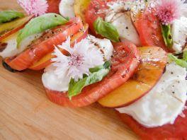 Recipe of the Day: Heirloom Tomato, Nectarine, and Mozzarella Salad