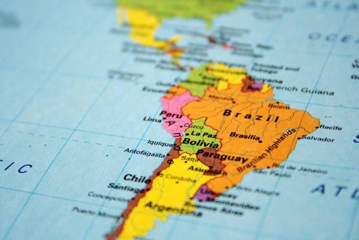 ¿Qué significan los nombres de los países de América Latina? (Haz clic en la imagen).