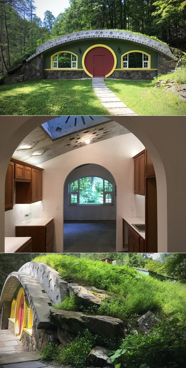 A Real Hobbit House Lord Of The Rings Fanatic Spends 6 Years