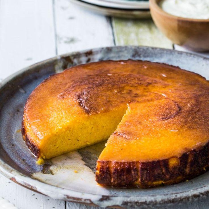 Mandarin Syrup Cake