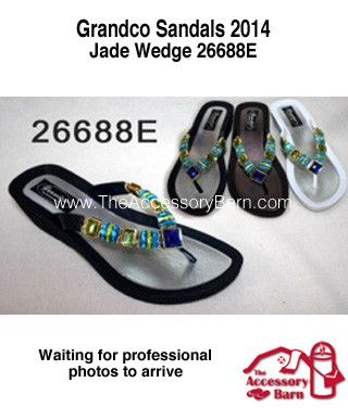 New 2014 Grandco Sandals Jade Wedge I found this on http://theaccessorybarn.com