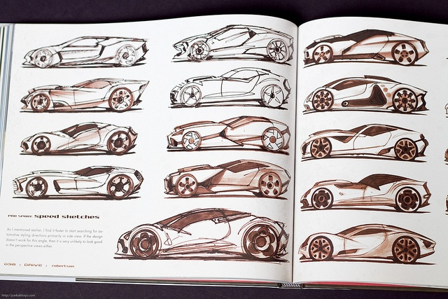 DRIVE: vehicle sketches and renderings by Scott Robertson by Parka81, via Flickr