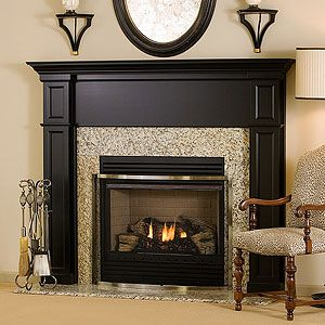 1000 Images About Painted Fireplace Mantel Ideas On Pinterest Painted Tiles Black Fireplace