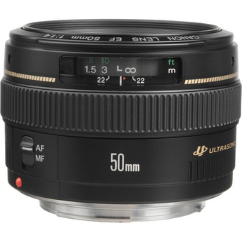 Canon EF 50mm f/1.4 lens is more than a thousand less than the 1.2L and it's pretty darn sharp. Just don't expect to do anything below f2.0 without some vignetting.