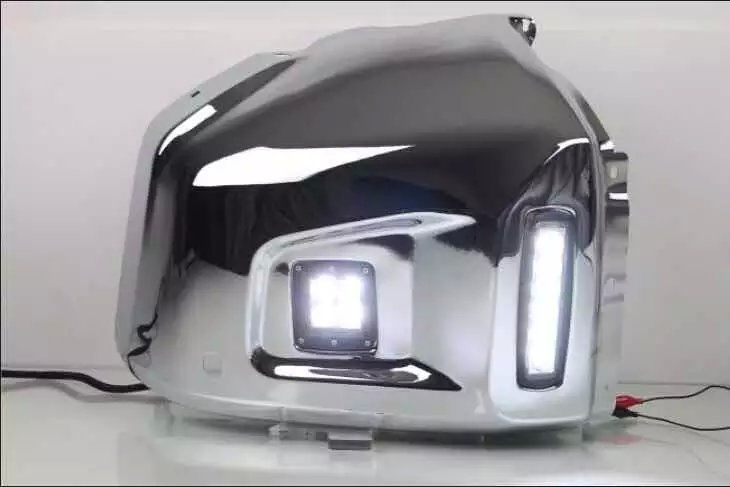 380.00$  Watch here - http://alig9y.worldwells.pw/go.php?t=32600431684 - New arrival top quality led drl daytime running light fog lamp front bumper light case for toyota tundra 2015 380.00$