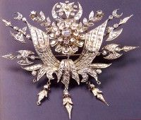 Ottoman jewelry  antique     Ottoman coat of arms in the form of brooches, private collection of 19th century