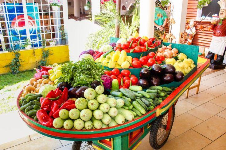 Organic vegetables, bio, grown in our own farm at Sibioara, variety, fresh, summer, restaurant, healthy - Phoenicia Holiday Resort, North Mamaia, Constanta, Romania