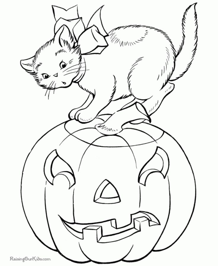 Printable Halloween Pumpkin Coloring Pages Are Fun For Kids Page